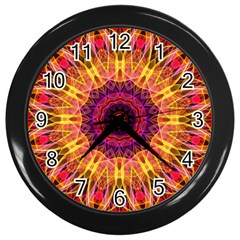 Gemstone Dream Wall Clock (black)