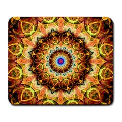 Ochre Burnt Glass Large Mouse Pad (rectangle)