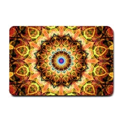 Ochre Burnt Glass Small Door Mat