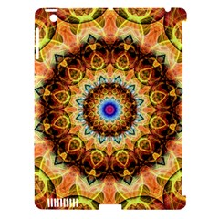 Ochre Burnt Glass Apple iPad 3/4 Hardshell Case (Compatible with Smart Cover)
