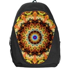 Ochre Burnt Glass Backpack Bag