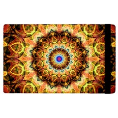 Ochre Burnt Glass Apple Ipad 3/4 Flip Case