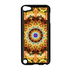 Ochre Burnt Glass Apple Ipod Touch 5 Case (black)