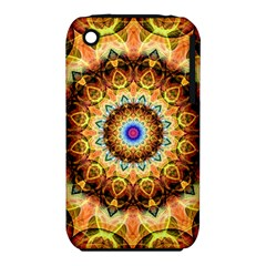 Ochre Burnt Glass Apple iPhone 3G/3GS Hardshell Case (PC+Silicone)