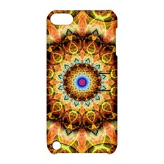 Ochre Burnt Glass Apple Ipod Touch 5 Hardshell Case With Stand