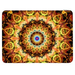 Ochre Burnt Glass Samsung Galaxy Tab 7  P1000 Flip Case