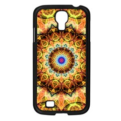 Ochre Burnt Glass Samsung Galaxy S4 I9500/ I9505 Case (black)