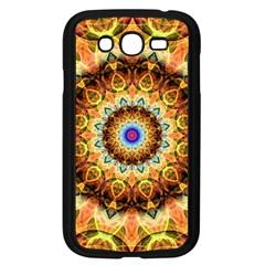 Ochre Burnt Glass Samsung Galaxy Grand DUOS I9082 Case (Black)