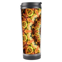 Ochre Burnt Glass Travel Tumbler