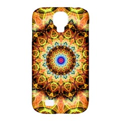 Ochre Burnt Glass Samsung Galaxy S4 Classic Hardshell Case (PC+Silicone)