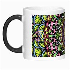 Psychedelic Leaves Mandala Morph Mug