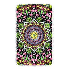 Psychedelic Leaves Mandala Memory Card Reader (Rectangular)