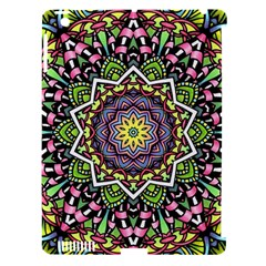 Psychedelic Leaves Mandala Apple Ipad 3/4 Hardshell Case (compatible With Smart Cover)