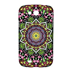 Psychedelic Leaves Mandala Samsung Galaxy Grand GT-I9128 Hardshell Case