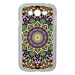 Psychedelic Leaves Mandala Samsung Galaxy Grand DUOS I9082 Case (White)