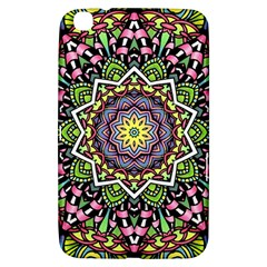 Psychedelic Leaves Mandala Samsung Galaxy Tab 3 (8 ) T3100 Hardshell Case