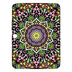 Psychedelic Leaves Mandala Samsung Galaxy Tab 3 (10.1 ) P5200 Hardshell Case