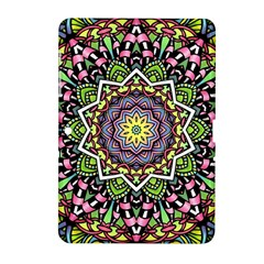 Psychedelic Leaves Mandala Samsung Galaxy Tab 2 (10.1 ) P5100 Hardshell Case