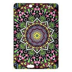 Psychedelic Leaves Mandala Kindle Fire Hd 7  (2nd Gen) Hardshell Case