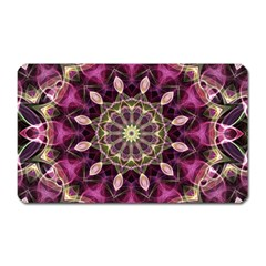 Purple Flower Magnet (rectangular)