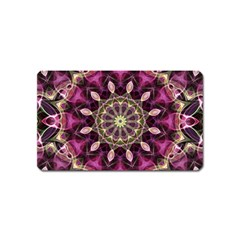 Purple Flower Magnet (Name Card)