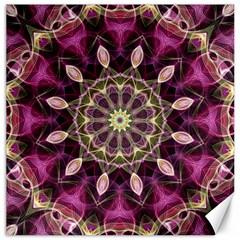 Purple Flower Canvas 12  x 12  (Unframed)