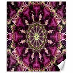 Purple Flower Canvas 20  x 24  (Unframed)