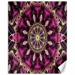 Purple Flower Canvas 11  X 14  (unframed)
