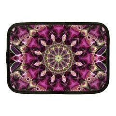 Purple Flower Netbook Sleeve (medium)