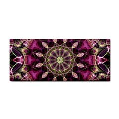 Purple Flower Hand Towel