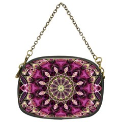 Purple Flower Chain Purse (two Sided)