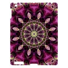 Purple Flower Apple iPad 3/4 Hardshell Case
