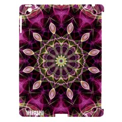 Purple Flower Apple iPad 3/4 Hardshell Case (Compatible with Smart Cover)
