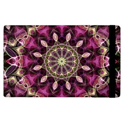 Purple Flower Apple iPad 3/4 Flip Case