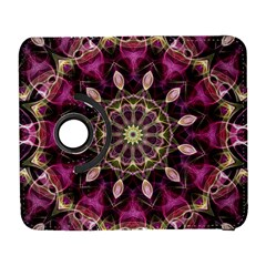 Purple Flower Samsung Galaxy S  Iii Flip 360 Case