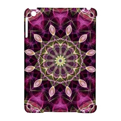 Purple Flower Apple Ipad Mini Hardshell Case (compatible With Smart Cover)