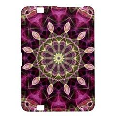 Purple Flower Kindle Fire HD 8.9  Hardshell Case