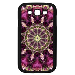 Purple Flower Samsung Galaxy Grand Duos I9082 Case (black)
