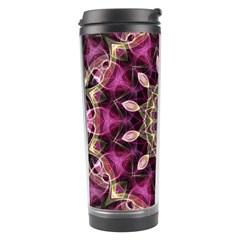 Purple Flower Travel Tumbler