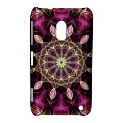 Purple Flower Nokia Lumia 620 Hardshell Case