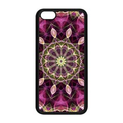 Purple Flower Apple Iphone 5c Seamless Case (black)
