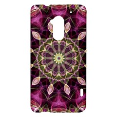 Purple Flower HTC One Max (T6) Hardshell Case