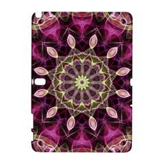 Purple Flower Samsung Galaxy Note 10.1 (P600) Hardshell Case