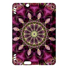 Purple Flower Kindle Fire HDX 7  Hardshell Case