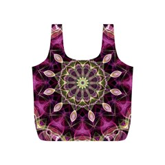 Purple Flower Reusable Bag (s)