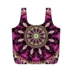 Purple Flower Reusable Bag (M)