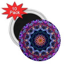 Purple Lotus 2.25  Button Magnet (10 pack)