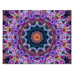 Purple Lotus Jigsaw Puzzle (Rectangle)