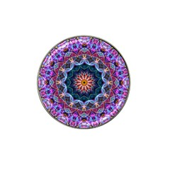 Purple Lotus Golf Ball Marker (for Hat Clip)