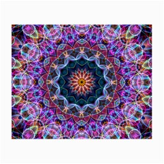 Purple Lotus Glasses Cloth (Small, Two Sided)